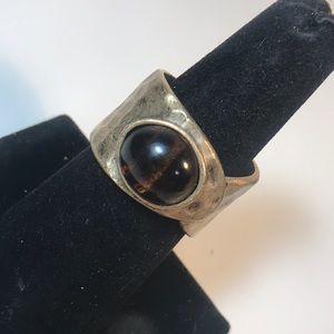 Premier Designs size 10 hammered bronze ring